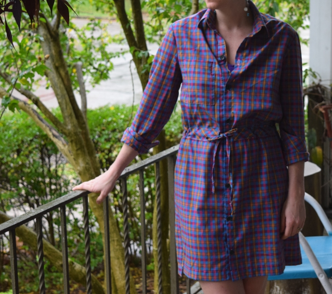 archer shirtdress
